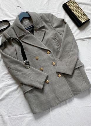 ♥️ новое актуальное пальто бойфренд vero moda