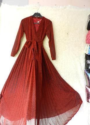 ✅ красивенное платье с люрексом