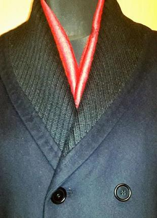 Кашемировое пальто pierre cardin(оригинал кашемир) новое!