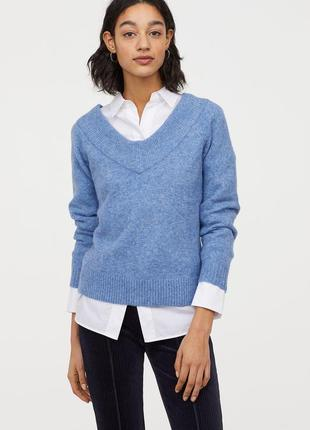Теплый свитер h&m, разм. s