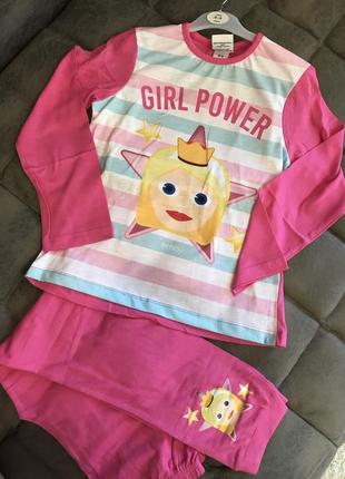 Пижама на девочку 8-9 лет