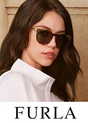 Женские солнцезащитные очки бабочки гавана furla оригинал новые