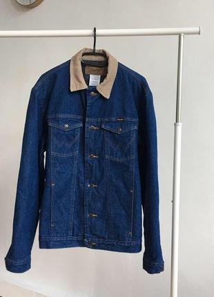 Джинсова куртка wrangler