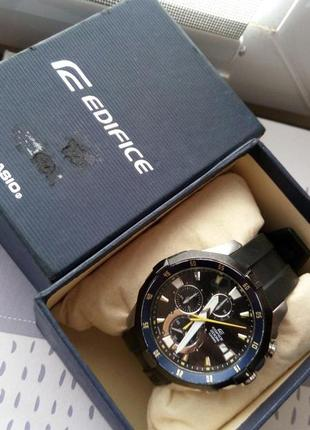 Мужские часы casio edifice efm-502-1a3vuef япония бу