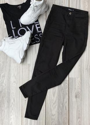 Классические джинсы с высокой посадкой bershka 36