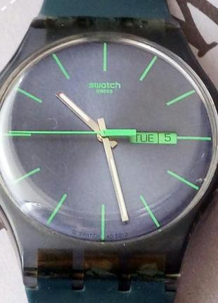 Часы swatch swiss швейцария бу