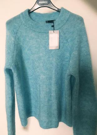 Мохеровый свитер h&m. размер м