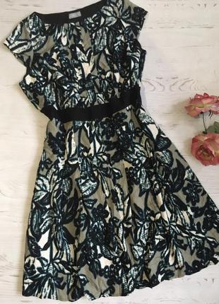 Красивое платье с принтом/4xl