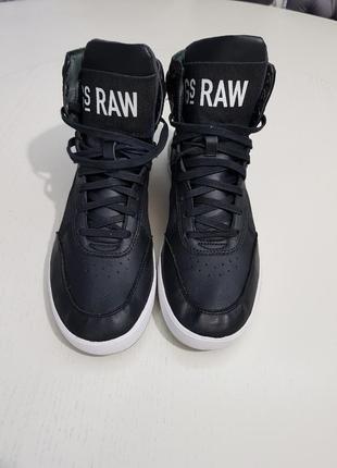 Высокие кеды хайтопы g-star raw footwear gs52445/40a