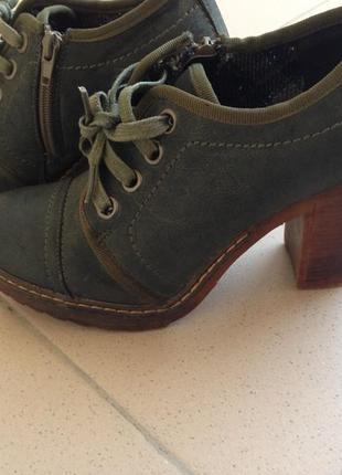 Туфли ботильйони centro високий каблук