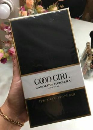 Carolina herrera good girl каролина эррера туфелька духи парфюм туалетная вода 80мл