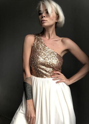 Шикарное платье в пайетках asos