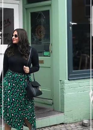Трендовая юбка-миди 20 размер