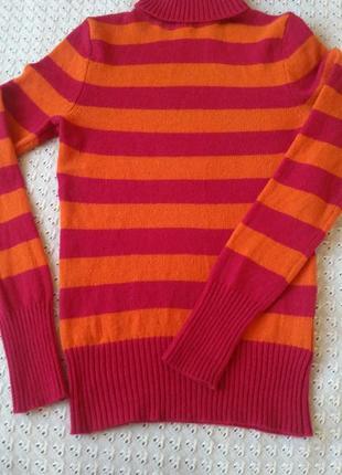 Свитер гольф шерстяной теплий светр з гольфіком