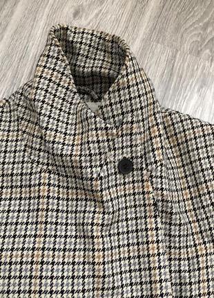 Пальто p.xs zara mango в гусиную лапку7 фото