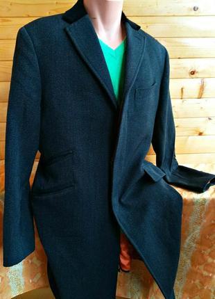 Классическое шерстяное  демисезонное пальто от шведского бренда rose & born,  пр-во италия