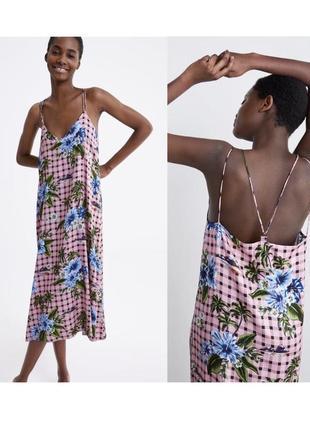Новое платье в бельевом стиле zara
