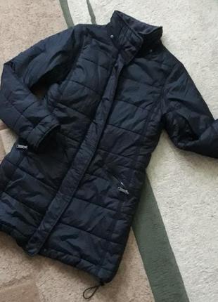Демісезонний плащ, подовжена демі куртка