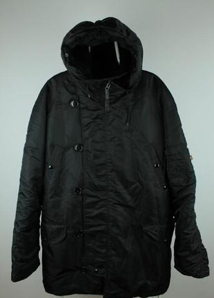 Оригинальная куртка alpha industries n-3b parka made in usa