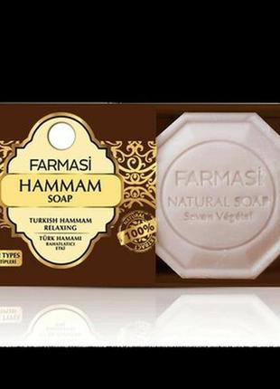 Натуральное мыло hammam soap farmasi