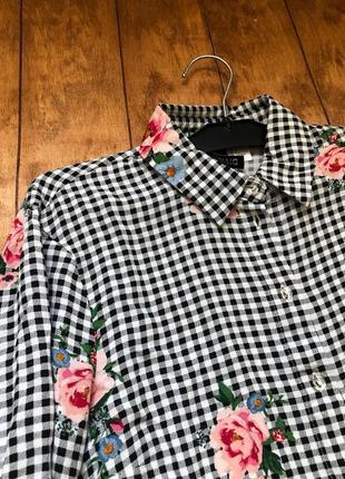 Рубашка, укорочённая рубашка