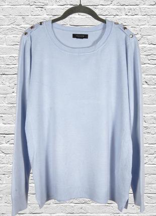 Лавандовый свитер женский, сиреневый свитер свободный