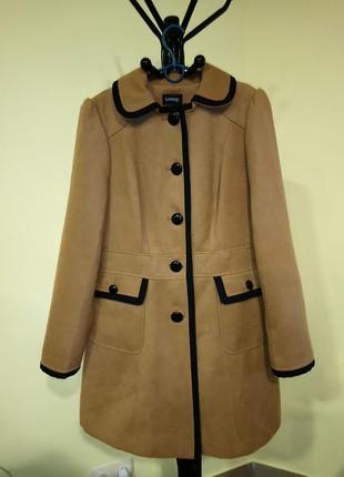 Демисезонное коричневое пальто george