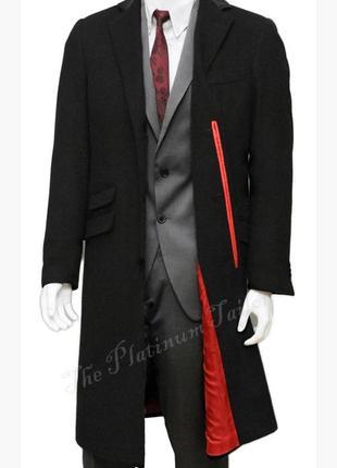 Стильное демисезонное шерстяное пальто ,шерсть/ кашемир !!!
