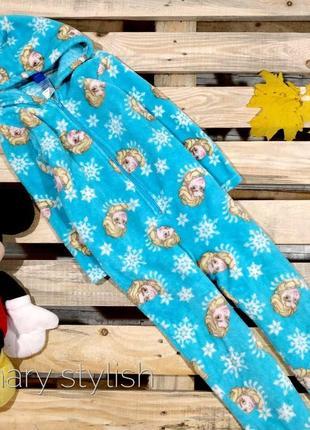 Слип человечек пижама холодное сердце эльза костюм для дома