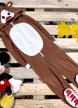 Слип человечек пижама олень костюм для дома