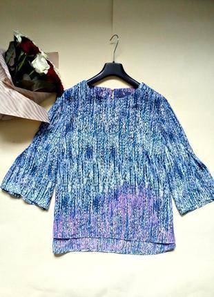 Легкая блуза свободного кроя 20