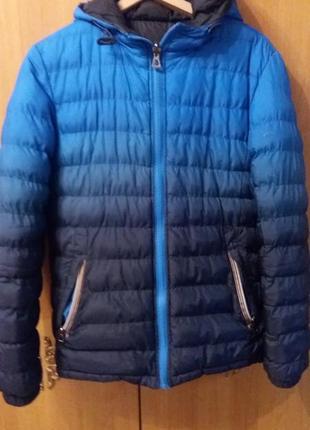 Куртка мужская зимняя двухсторонняя