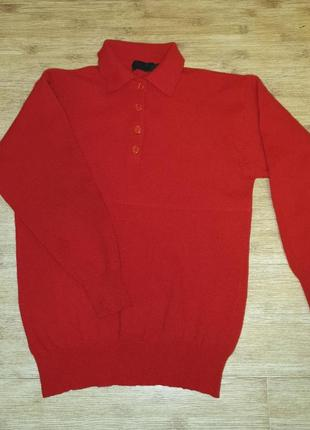 Marco pessi, basic. шерстяной тёплый джемпер, кофта, свитер.