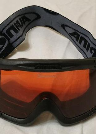 Профессиональная лыжная маска alpina