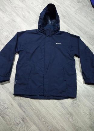 Демисезонная куртка ветровка mountain warehouse водоотталкивающая