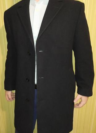 Calvin klein  пальто шерсть,нейлон,кашемир