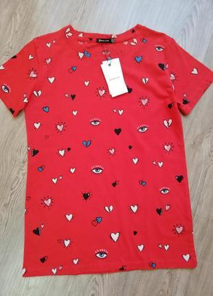 Милая футболка от stradivarius
