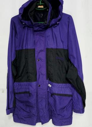 Regatta куртка ветровка мужская длинная на мембране размер xl
