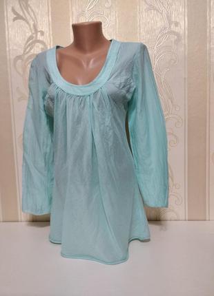 Шелковая блуза, ночнушка , италия