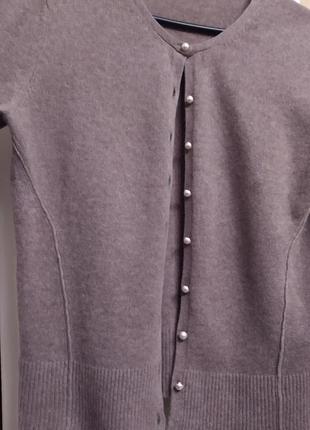 Кашемир теплая кофта, свитер.