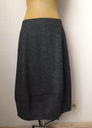 Оригинальная, не банальная демисезонная юбка от oska, размер укр прим 50-52
