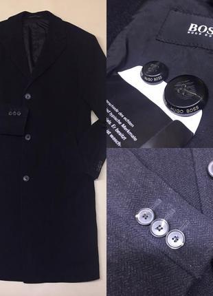 Шерстяное  брендовое пальто