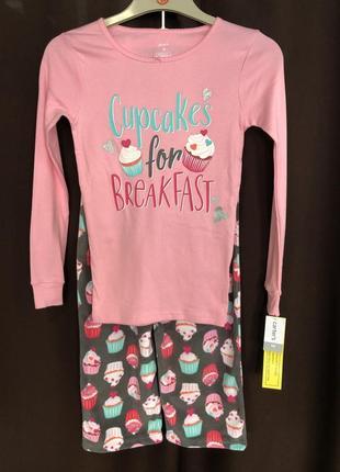 Флисовая пижама carter's
