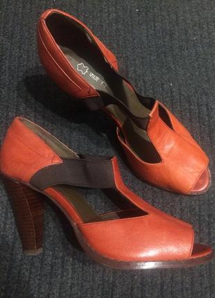 Next кожаные босоножки сандали туфли