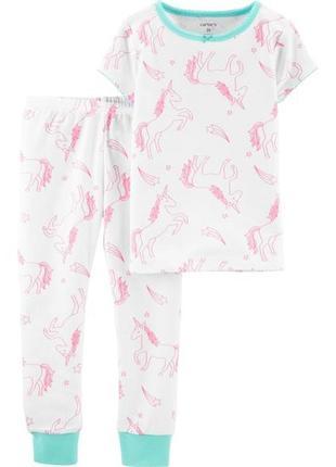 Пижама с коротким рукавом carter's, 2т