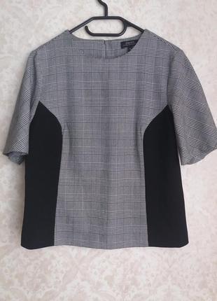 Блузка в трендовую клетку от бренда papaya