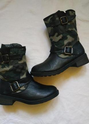 Ботинки милитари  alicia