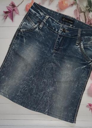 Джинсовая юбка варенка d.real marks
