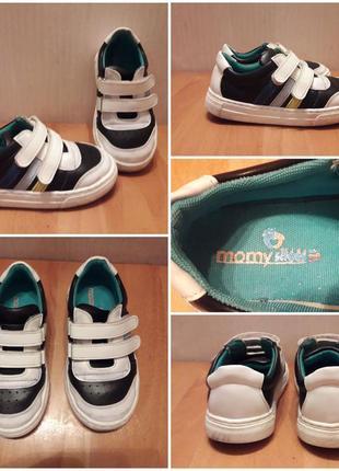 Кроссовки на липучках momy shoes с ортопедической стелькой