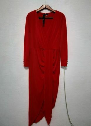 """Платье """" красная королева """" большого размера"""